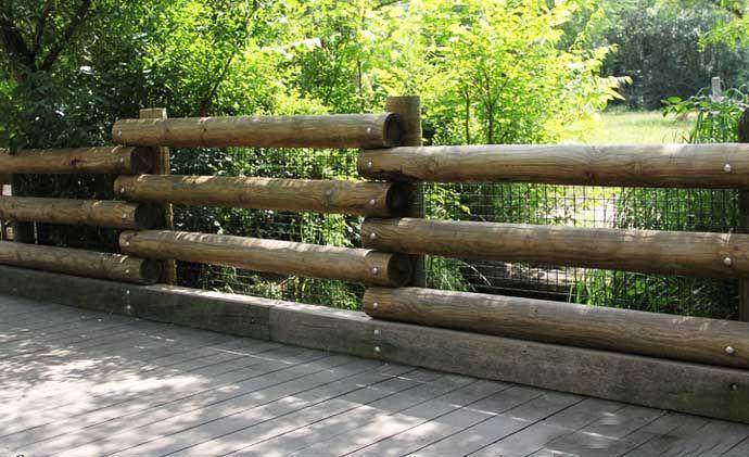Все, что нужно знать о заборе из бревен