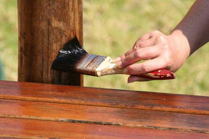обработка древесины пропиткой