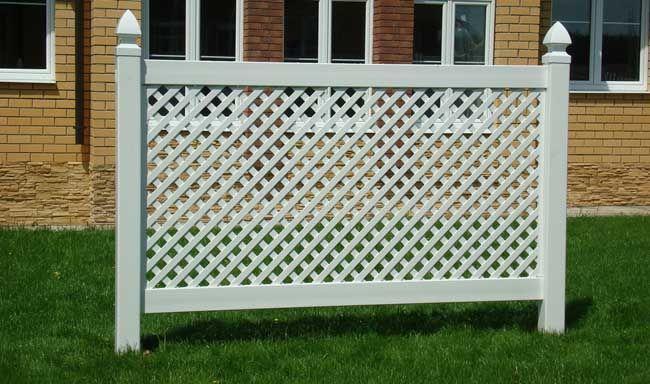 решетчатая ограда